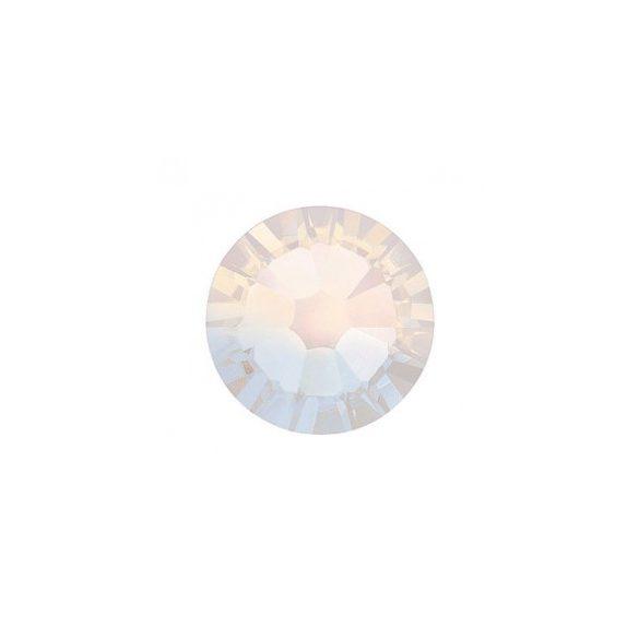 Swarovski fehér opál kerek kristály SS5 100db