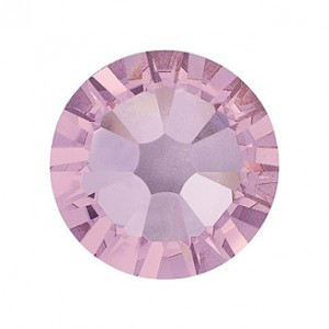Swarovski   SS10  méretű v.lila kerek kristály 100db