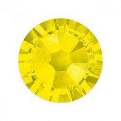 Swarovski   SS10  méretű citromsárga kerek kristály 100db