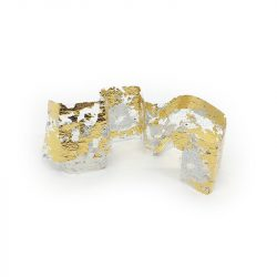 Transzferfólia 1db - arany - ezüst 04