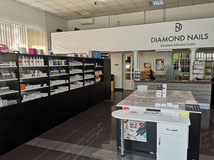 Diamond Nails Debrecen belső tér
