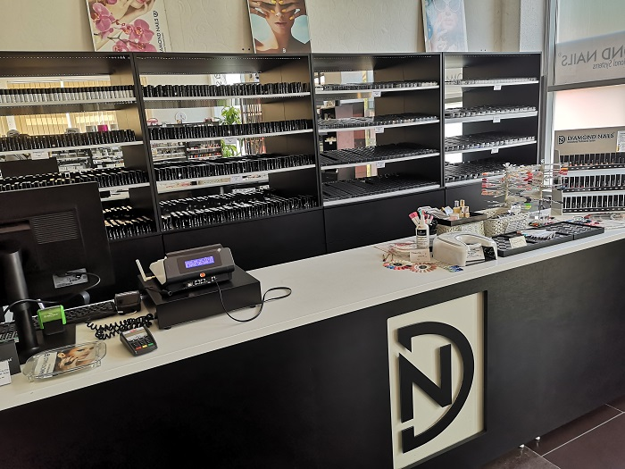 Diamond Nails Debrecen belső tér - 2