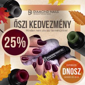 Érdekel a 25%-os Diamond Nails kedvezmény?