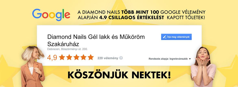Diamond Nails Zselé Lakk, 4032 Debrecen, Böszörményi út 200.